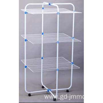 3 shelves towel rack